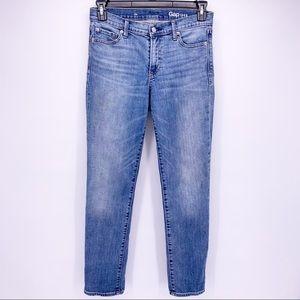 Gap Authetic Straight Medium Vintage Jeans Sz 28